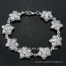 Wholesale Sterling Silver Charm Bracelet Silver Jewelry BSS-027