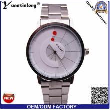 Yxl-370 Hottest Automático Digital de Acero Inoxidable Impermeable Wristband Moda Deporte Cuarzo Reloj de Los Hombres