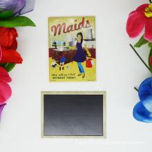 Aimant de réfrigérateur en métal personnalisé à la promotion avec logo personnalisé