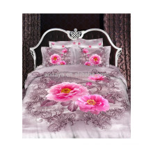 2014 New Products Bed Linens 3D Flower Bedding Set China Wholesale