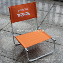 Stocky single folding beach chair for promotion