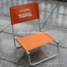 Única cadeira de praia dobrável para promoção