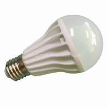 Lâmpada de cerâmica nova do bulbo do globo do projeto E27 9W LED, luz