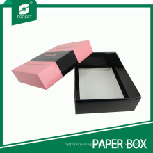 Produto de cuidado de pele decorativo / caixa de embalagem de cartão de cosméticos