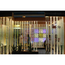 Crystal LED Bubble Column Pillars