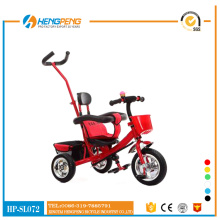 Baby tricycles with strong pushbar