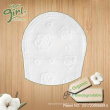 Biodegradável respirável de volta por atacado calcinha de algodão orgânico feminino private label