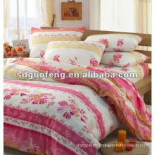 100% Polyester Pigment Printing Fabric With 235CM Width For Bedding Sets