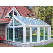 Style personnalisé Double stratifié en verre Aluminium Sunroom pour jardin et balcon