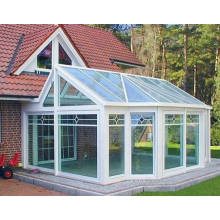 Индивидуальный стиль Double Laminate Glass Aluminium Sunroom для сада и балкона