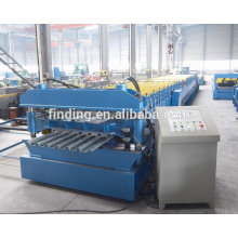 high efficient aluminum profile roofing double layer rolling machine/roofing machine for construction material
