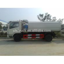 2015 Euro IV Melhor Preço Dongfeng pequeno 5m3 caminhão coletor de lixo novo
