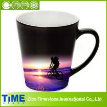Tazas de café de la porcelana de la forma del embudo (15050701)