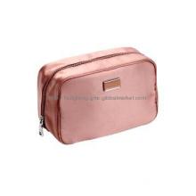 Satin Cosmetic Bag Luggage Bags Handbag Washing Bag