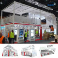 exhibition booth double deck,exhibition stand,exhibition fairs from Shanghai