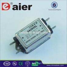 Mehrstufiger EMI-Rauschfilter mit einphasigem Filter