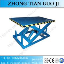 2m-8m height 2t-10t loading capacity stationary scissor lift
