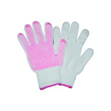Guante de trabajo de 10 puntos con guantes de PVC