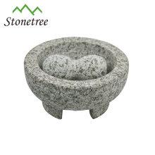 Mortier et pilon de granit uniques de bonne qualité et bon prix molcajete