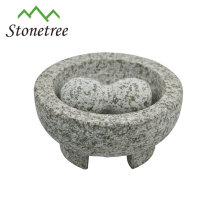 Unique granite mortar and pestle with good quality and good price molcajete