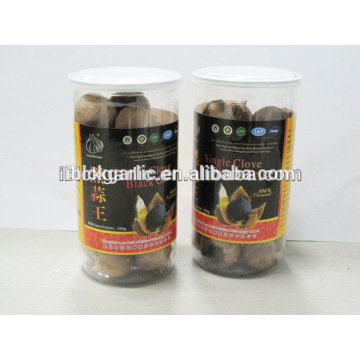 Single Clove Black Garlic 250g/bottle Chinese garlic