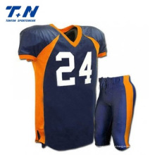 Sublimated Custom American Football Camisas, Futebol Americano Uniformes