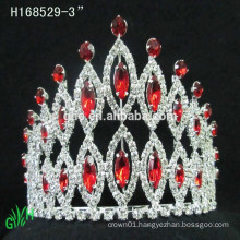 New Designs Rhinestone Crown,fashion bridal rhinestone crown pageant tiara