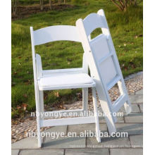 HIGH QUALITY durable White Resin Folding Chair