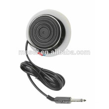 High Quality 360 stainless steel round tattoo foot pedal, tattoo footswitch