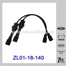 Ensemble de fil d'allumage de pièces auto 1.6L pour Mazda 323 BJ ZL01-18-140