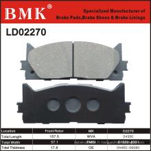 Plaquettes de frein de haute qualité (D2270)