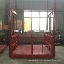 Elevador de drywall hidráulico de trilho de guia