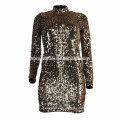 Vestido de fiesta ajustado del hombro oblicuo atractivo de una sola señora de la última moda de Europa