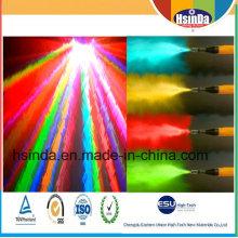 Efecto especial para recubrimiento en polvo de metales