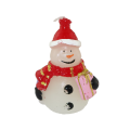 Party Christmas White Candle Decoration Zestaw podarunkowy