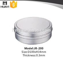 Pot de crème cosmétique en aluminium 200ml