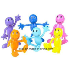 2016 Fashion Bendable Smile Face Figures