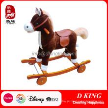 Rocking Horse Crianças Playground Equipment Baby Kids Toy