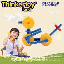Kit pädagogischen Plastik Puzzle Garten Tier Spielzeug