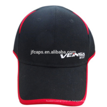 6 painéis com chapéu de beisebol bordado