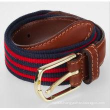 Men's fabric golf belts fabric woven belt