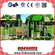 En1176 Equipo de patio de plástico al aire libre estándar para la escuela