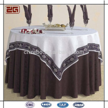 Modern Factory Made 100% Polyester Luxe Hotel Table Cloth