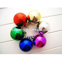 Shiny Plastic Christmas Ornament Balls in Bulk