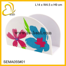 Creative Melamine Napkin Holder with Printing