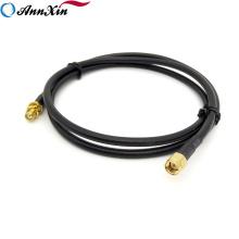 Manufactura RP SMA Macho a RP SMA Adaptador Hembra Cable Coaxial LRM200
