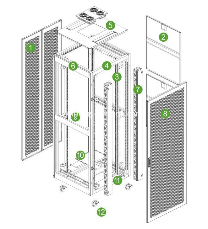 ve cabinet structure