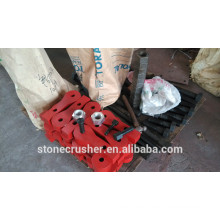 hammer crusher kumbee hammer arms,bolts,pins,M42 Nylon nuts,washer
