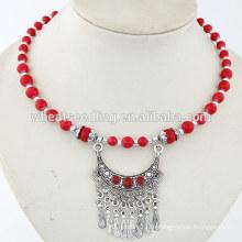 2014 новый продукт yiwu имитация ювелирных изделий дешево Имитация Богемии ожерелья