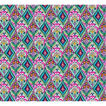 Mode Bademode Stoff Digitaldruck Asq-036